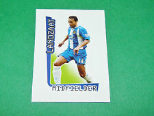 N°624 LANDZAAT WIGAN ATHLETIC MERLIN PREMIER LEAGUE FOOTBALL 2007-2008 PANINI