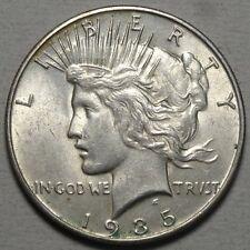 1935-S Peace Silver Dollar, Uncirculated, Sharp Original BU Coin    0509-05