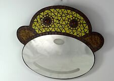 Monkey glass mosaic wall mirror BRAND NEW! FREE SHIPPING