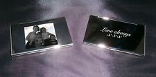 Personalised credit card holder business Photo logo text gift protect Valentines