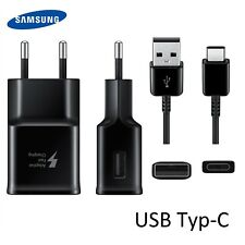 Original Samsung Galaxy S8 S8+ S9 Plus Note 7 Schnell Ladegerät USB-C Ladekabel