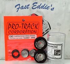 Silver Set of  Centerline Tires By Pro Track 1 1/16 x.500