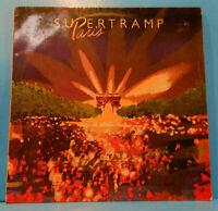 SUPERTRAMP PARIS 2X LP '80 ARGENTINA ORIGINAL PRESS GREAT CONDITION! VG++/VG+!!A