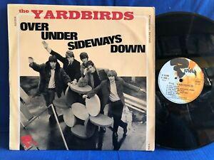 THE YARDBIRDS OVER UNDER RIVIERA 521004 ORIGINAL FRANCE LP EXC
