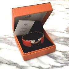 HERMES Clic Clac H Ash Bangle Bracelet Ladies Accessory Pre-owned w/Box