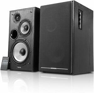 Edifier Aktivboxen Studio R2750DB 2.0 schwarz Bluetooth Laautsprecher Musik
