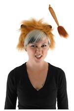 KIDS Child Adult LION King Cat Ears Mane & Tail Costume Kit