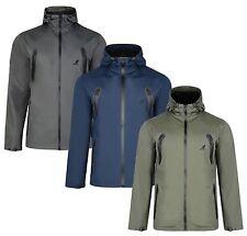 Kangol New Men's Polyester Hooded Corso Windcheater Jacket Long Casual Hood Coat