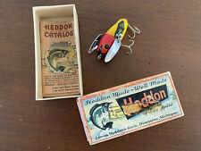Rare! Vintage Heddon Fishing Lure 2120-Yrh Crazy Crawler~ Original Box & Insert!