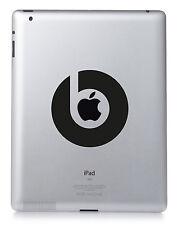 Dr DRE BEATS Apple iPad Mac Macbook Laptop Sticker Vinyl decal. Custom colour