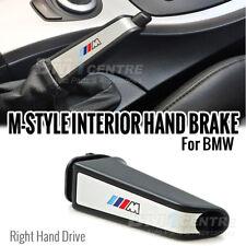 M SPORT BLACK SILVER ALLOY METAL HAND BRAKE FOR BMW E87 E90 E92 F30 E60 X1 X3 X5