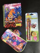 Moshi Monsters Bundle Xmas Stocking Filler Gift ☆ Pencil Case Notebook Set ☆ New