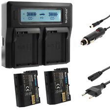 2x Akku für Nikon EN-EL15 + Dual Ladegerät Charger für Nikon EN-EL15|60422|90341