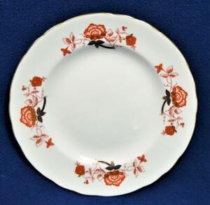"New ROYAL CROWN DERBY Bone China England BALI #A1100 8 1/2""d Salad Plate"