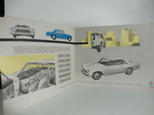 Lancia Flaminia. Catalogo pubblicitario