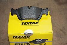 Textar Brake Pads with Warning Contact VW Bora Saloon and Variation Front & Rear