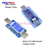 4-28V USB LCD Current Voltage Battery Power Tester Trigger Charger QC2.0 QC3.0