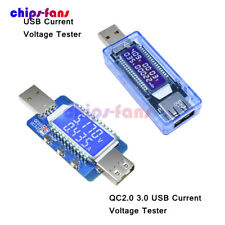 4-28V USB LCD Tensione Corrente Batteria Tester Trigger Charger QC2.0 QC3.0