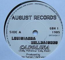 "LOUISIANNA HELLRAISORS - Carolina - Excellent Condition 7"" Single August GBH 1"