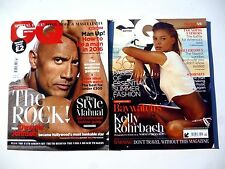 Monthly August GQ Magazines for Men