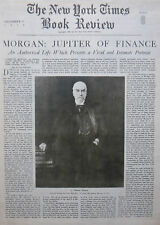 1939 December 17 J PIERPONT MORGAN JUPITER OF FINANCE SATERLEE Times Book Review