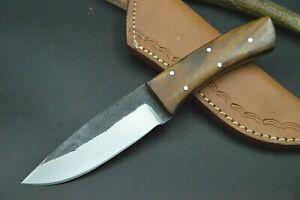 Mittelaltermesser Wikinger Larp Messer Carbon Stahl Taschenmesser Handarbeit 231