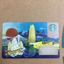 New Starbucks 2018 China Ningbo Gift Card Pin Covered