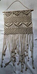 Cotton Macrame Tapestry Hand Woven Bohemian wall hanging Door Curtain