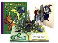 Wizard of Oz Pop Up Book and Card by Robert Sabuda New