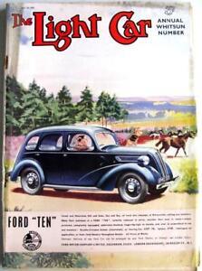 The LIGHT CAR 20 May 1938 Whitsun Number Original Motoring Car Magazine