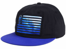 7e427d27e83 BLVD Express Flag Wave Snapback Snap Back Cap Hat Black   Blue