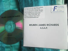 Reuben James Richards A.S.A.P. Jig-Saw Music Promo CDr Single