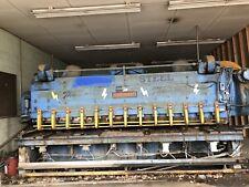 Cincinnati 34 X 12 Mechanical Metal Plate Shear Brake Bender Cutter