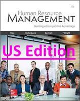 Human Resource Management 11e US EDITION Noe Hollenbeck Gerhart Wright
