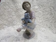 Lladro # 7620 ~ Best Friend ~ Girl W/Teddy Bear
