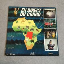 En Direct Du Congo - French Pathe STX196 African jazz artists LP
