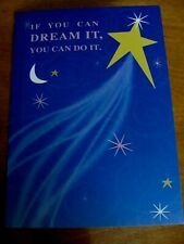 One NEW Graduation Greeting Card - If you can dream it, you can do it. Free Ship