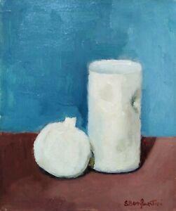 Sergio Bonfantini, 1968, olio su tavola 31x26