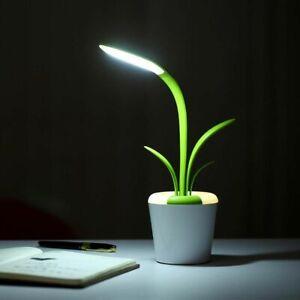 USB LED Reading Light Table Lamp Eye Care Desk Lamp Three Brightness Level 3.7V