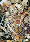 A Mix Of Usable Vintage/antique Jewellery 30s To 90s. 1.659 Kilo Lot. (2)