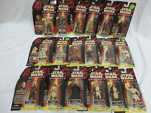 Star Wars Episode 1 Phantom Menace - Collection One - Various Action Figures NEW