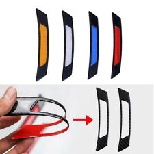 1 Pair Car Vehicle Door Edge Guard Reflective Sticker Tape Safty Warning Decal