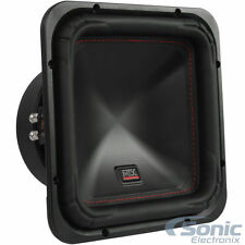 """MTX S6510-44 500W RMS 10"""" S65 Series Dual 4 Ohm Square Car Subwoofer Sub Woofer"""