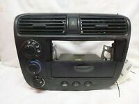 Climate Control Delete 1999-2000 Honda Civic S2000 Push Start Panel ek9 s2k ek
