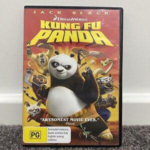 Kung Fu Panda  (DVD Region 4 2008) Jack Black