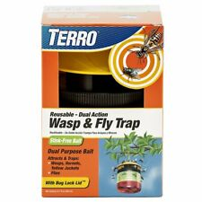 NEW! Terro T512 Wasp and Fly Reusable Trap, 1 Pack