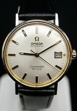 Mens OMEGA Seamaster DeVille G.P. & S/S Automatic Mvmt #560 Watch B3195