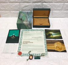 Genuine Rolex SUBMARINER 16610 Watch box 68.00.01 Guarantee booklet 0716020