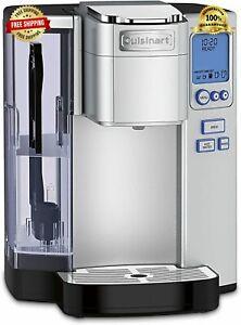 Cuisinart SS-10P1 Premium Single Serve Coffeemaker Silver Keurig K Cup STAINLESS