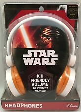 Star Wars Headphones Kid Friendly Volume To Protect Hearing Adjustable Headband
